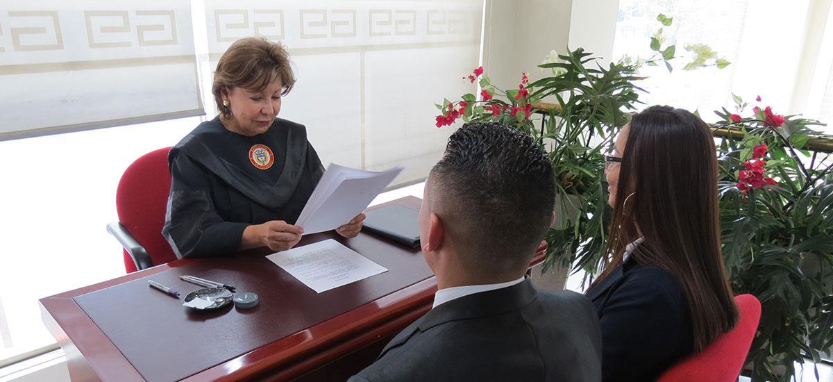 Registro De Matrimonio Catolico En Notaria : Matrimonio civil notaría de bogotá